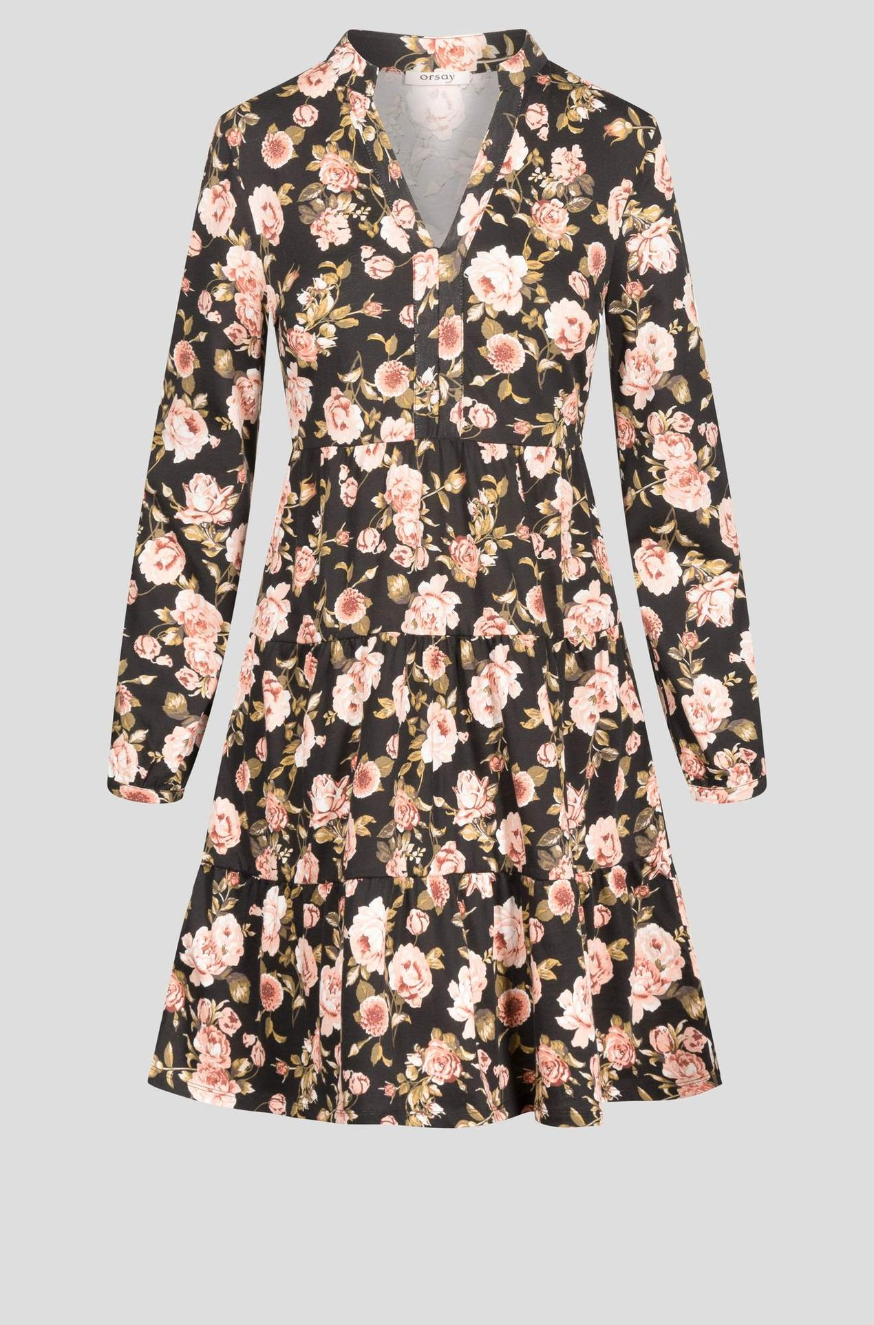 Sukienka w różowe kwiatki