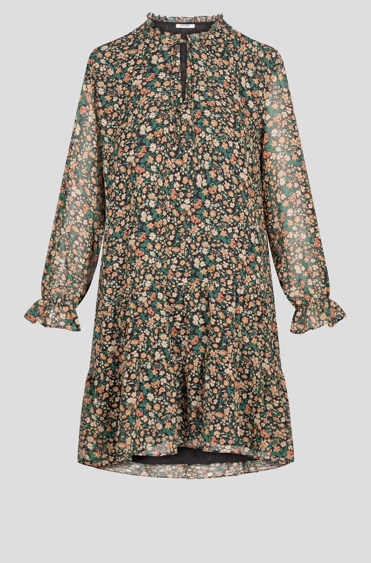 Krótka sukienka w kwiatki