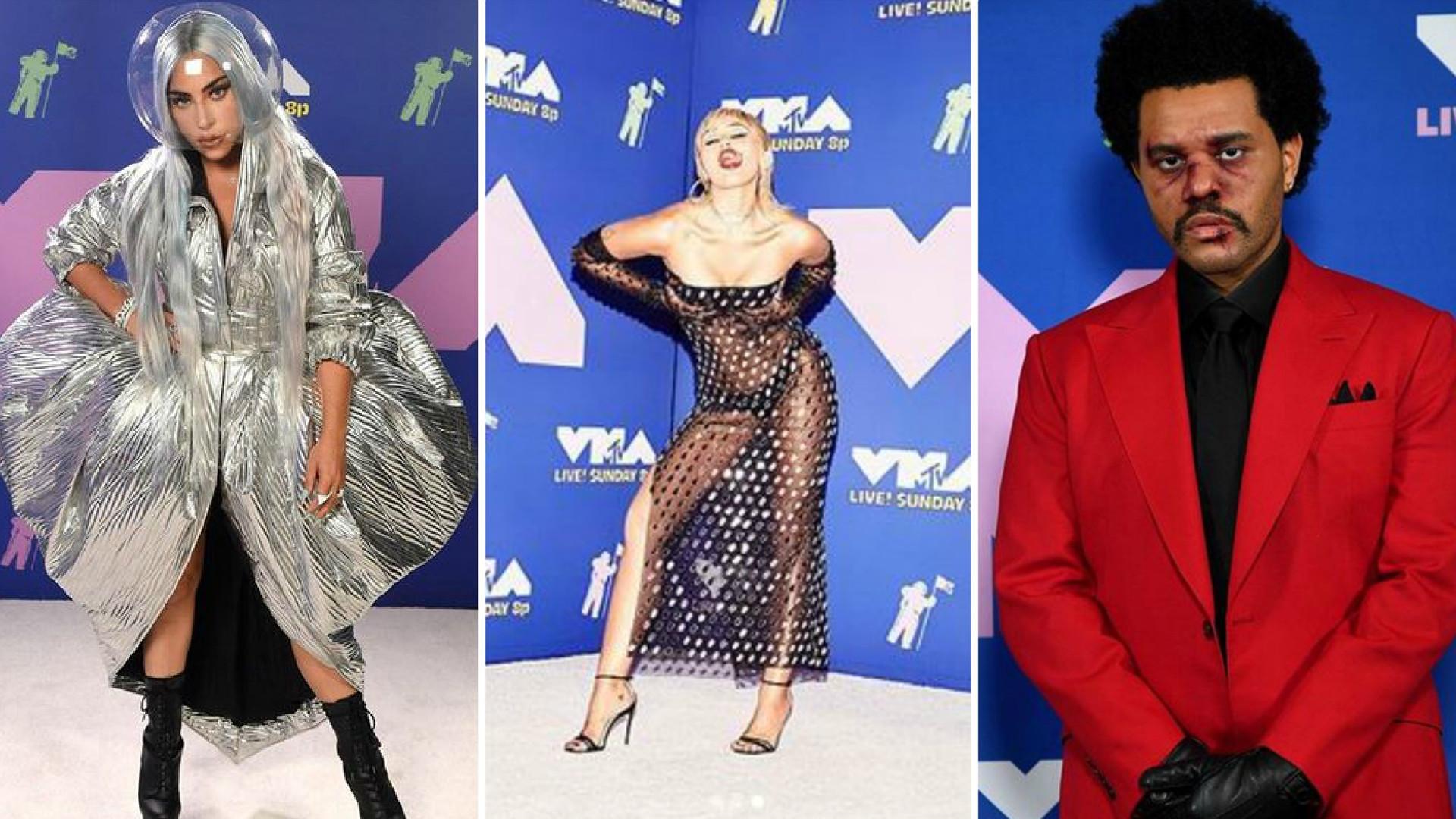 Wirtualne MTV VMA – Lady Gaga SZOKOWAŁA stylizacjami (ZDJĘCIA)