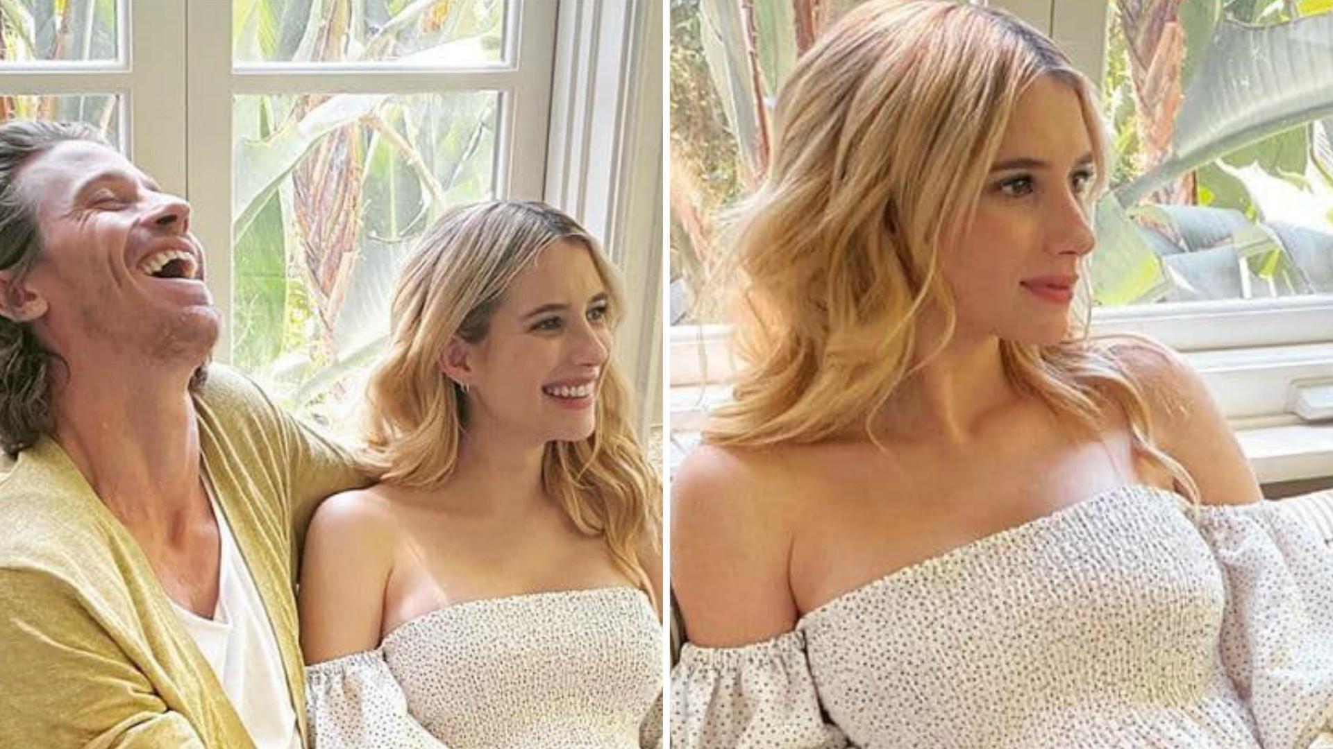 Emma Roberts potwierdziła CIĄŻĘ. Pokazała ciążowy brzuch