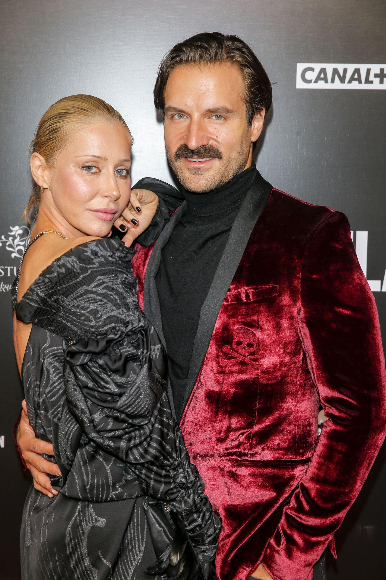 Kasia Warnke i Piotr Stramowski na czerwonym dywanie
