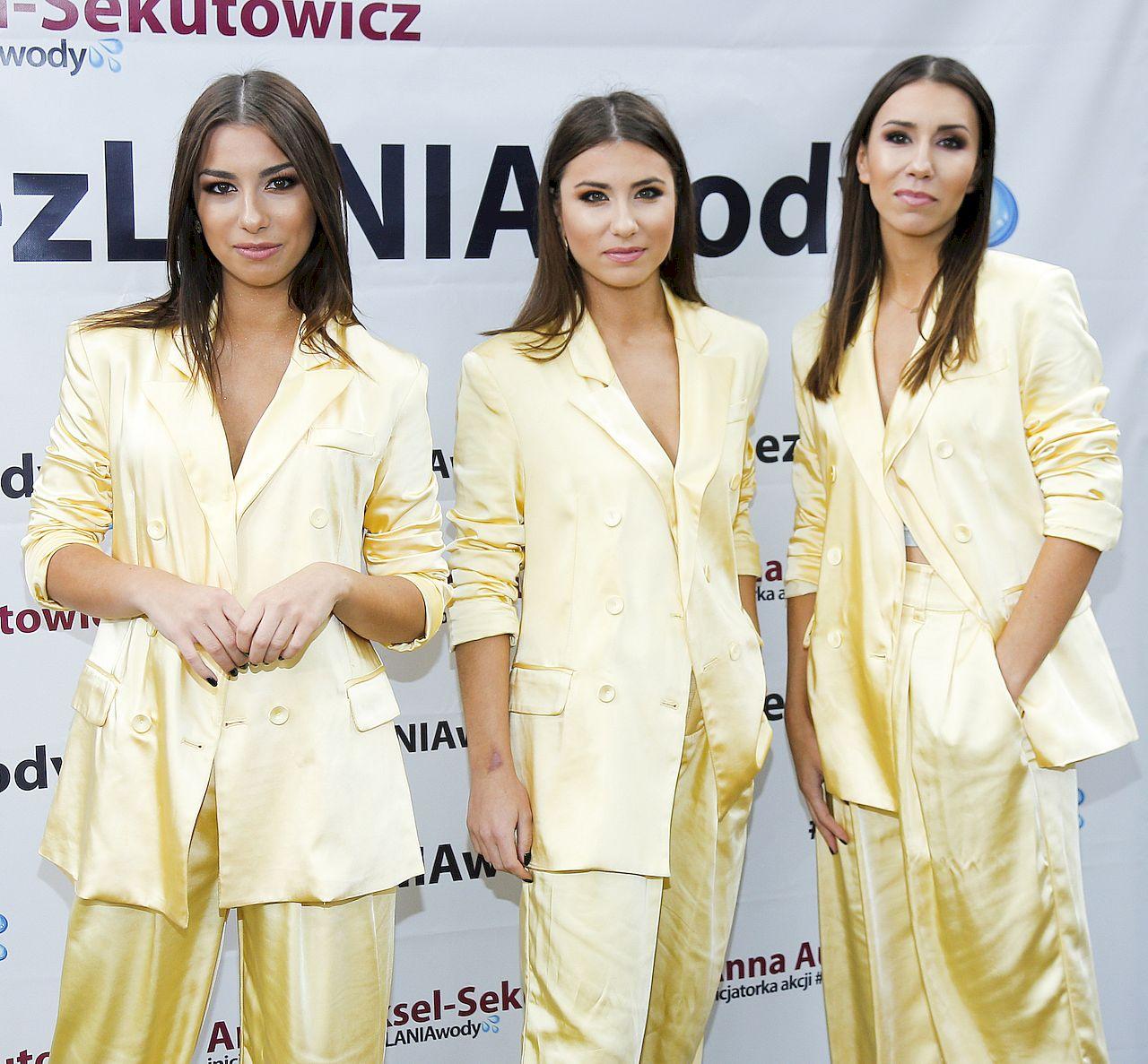 Siostry Szczepańskie na konferencji #bezlaniawody