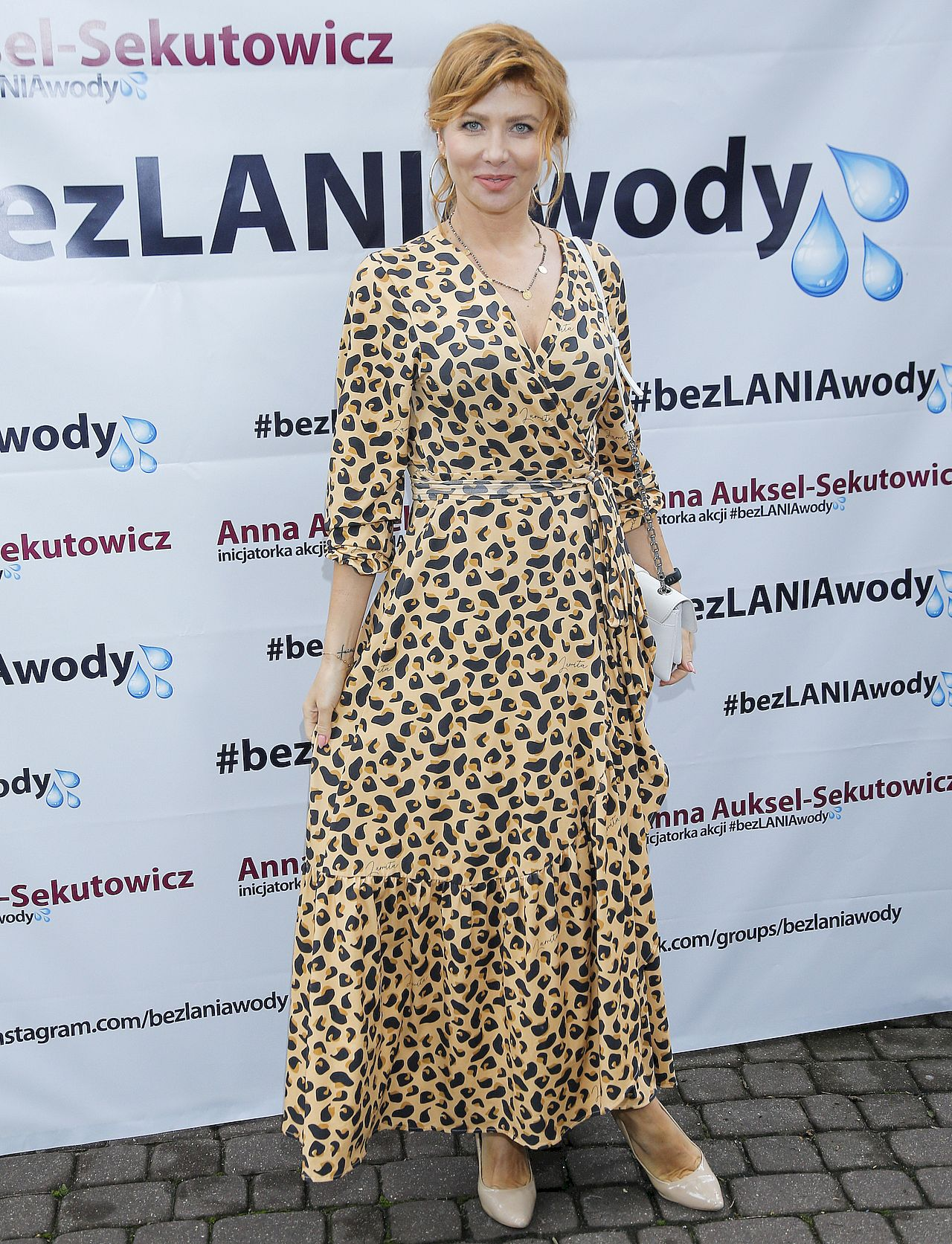 Agata Załęcka na konferencji #bezlaniawody