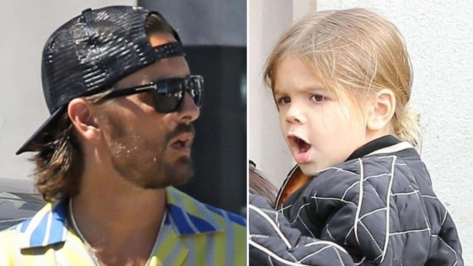 Syn Kourtney Kardashian i Scotta Disicka to cały tata – w krótkich włosach wygląda jak kopia ojca