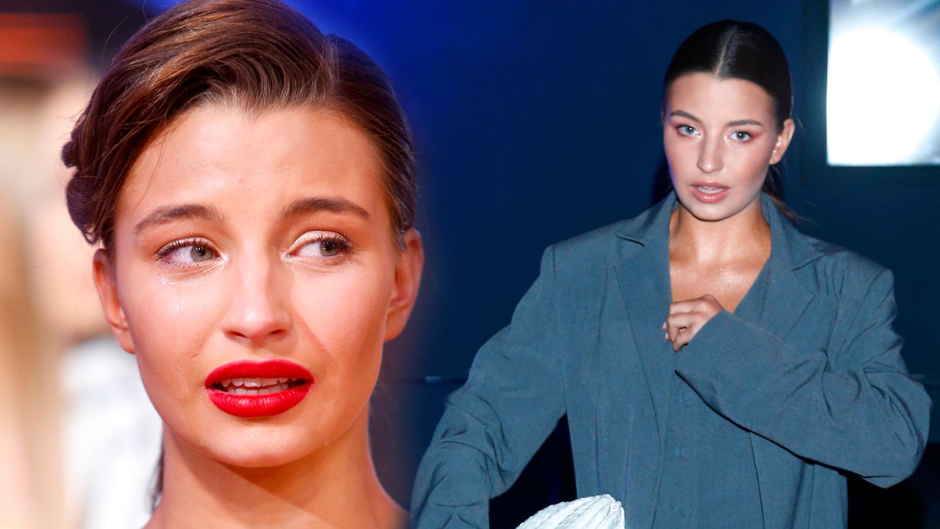 """Wyczerpana Julia Wieniawa zasypia w sukni balowej: Jak Śpiąca Królewna"""""""