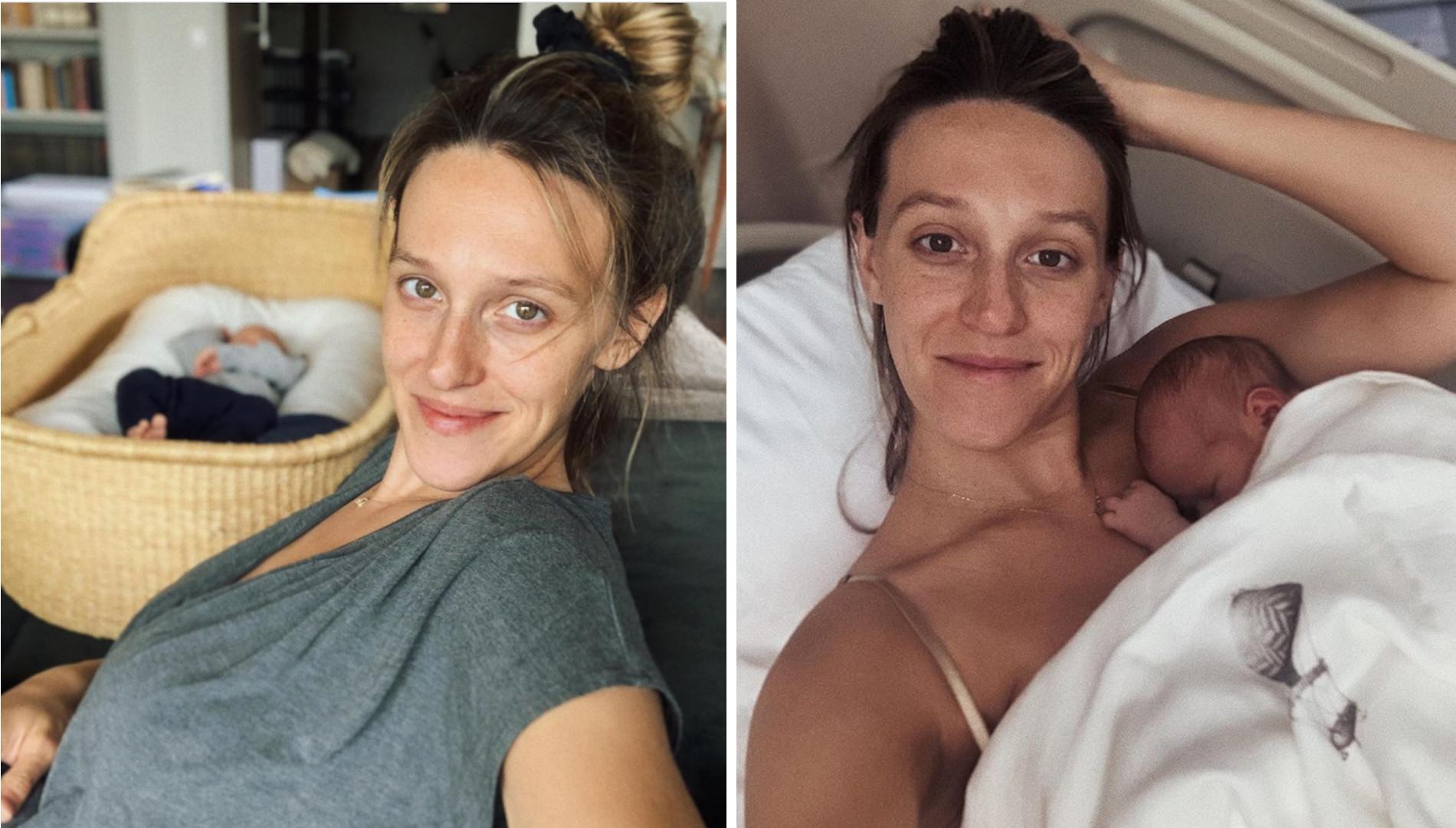 """Naturalna Ola Żebrowska o macierzyństwie: """"Biust zmienia rozmiar 4 razy dziennie"""""""