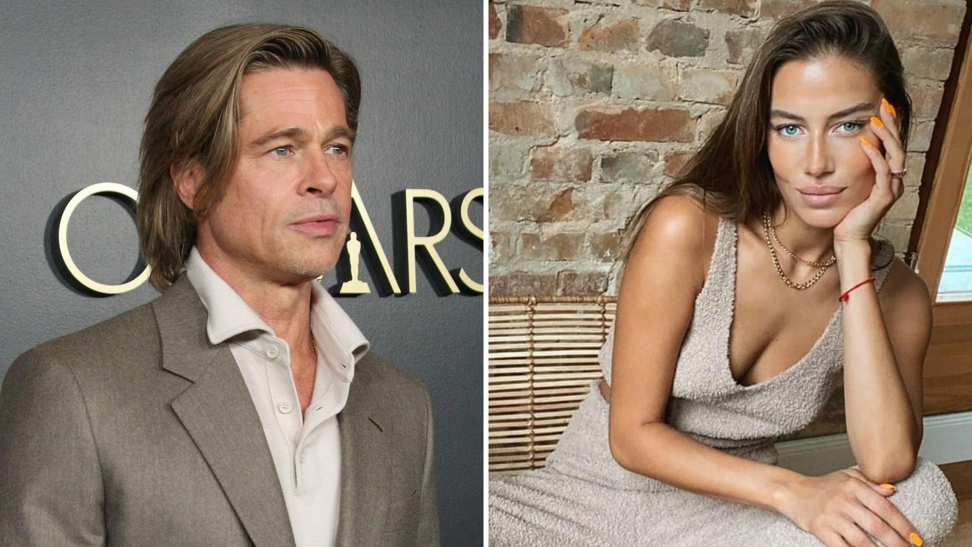 Nowa dziewczyna Brada Pitta ma MĘŻA. To 68-letni milioner