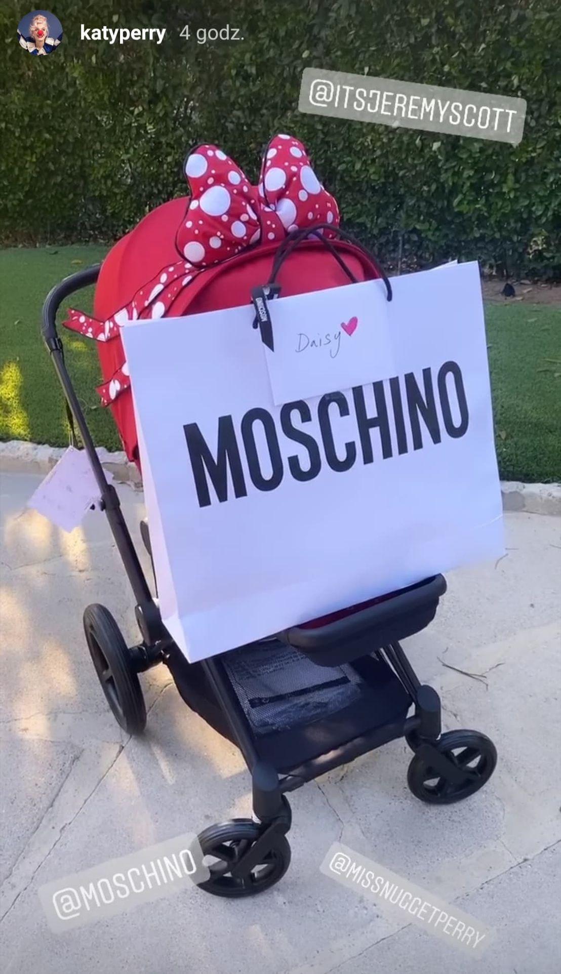 Katy Perry pokazała wózek dla córki