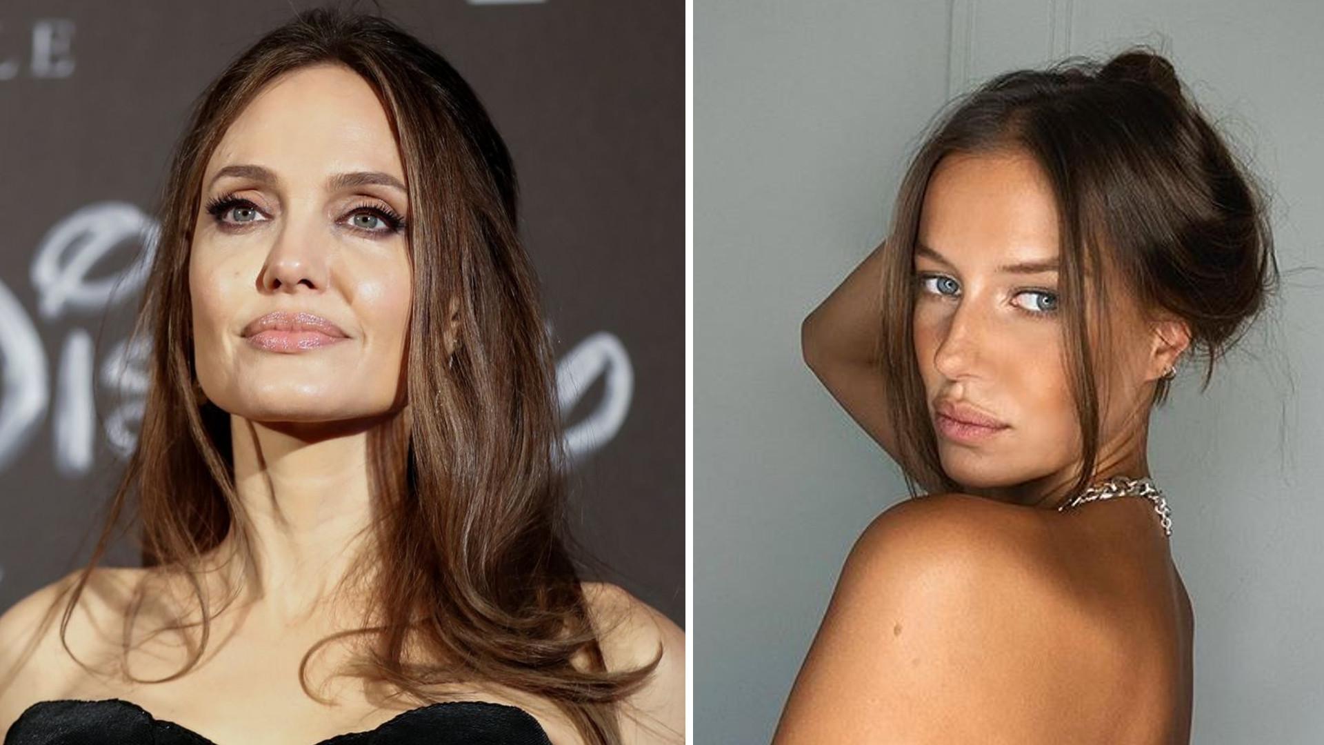 Dziewczyna Brada Pitta wygląda jak KOPIA Angeliny Jolie na najnowszych zdjęciach