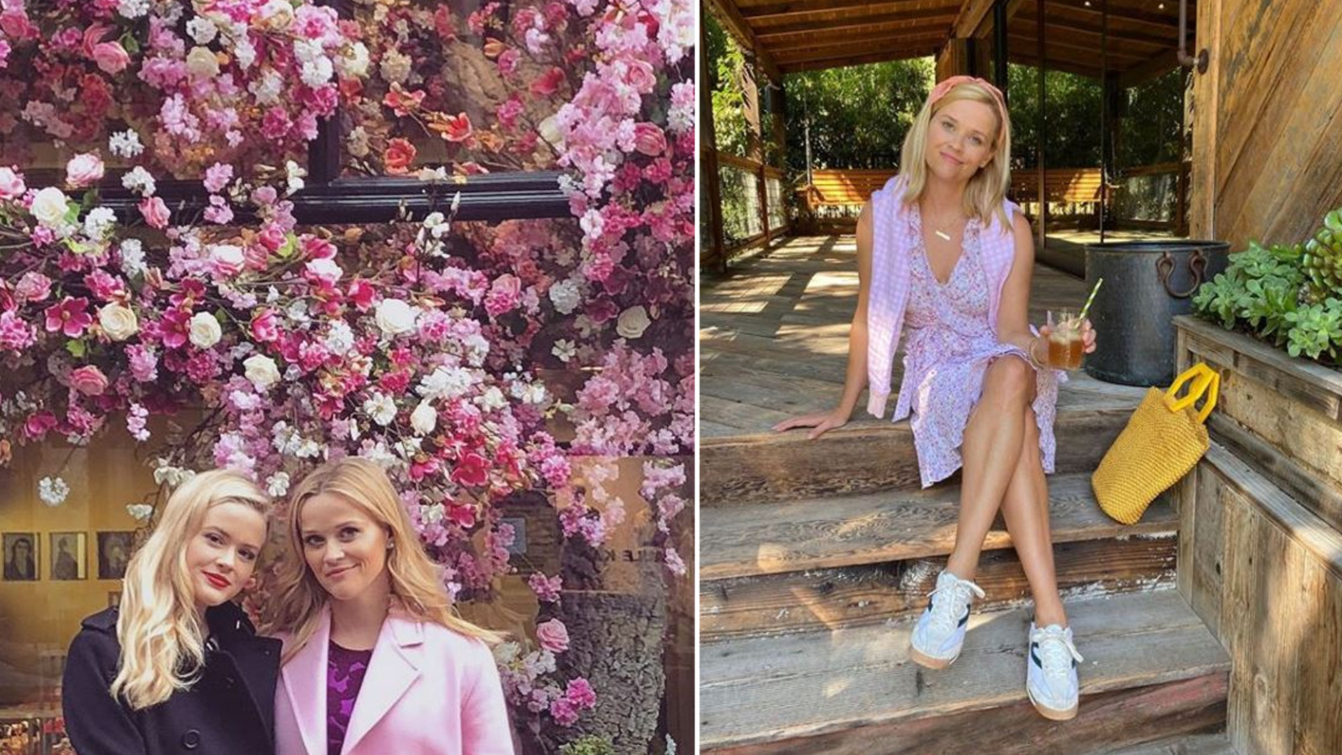 Reese Witherspoon opublikowała zdjęcie CÓRKI na Instagramie a fani myśleli, że to AKTORKA