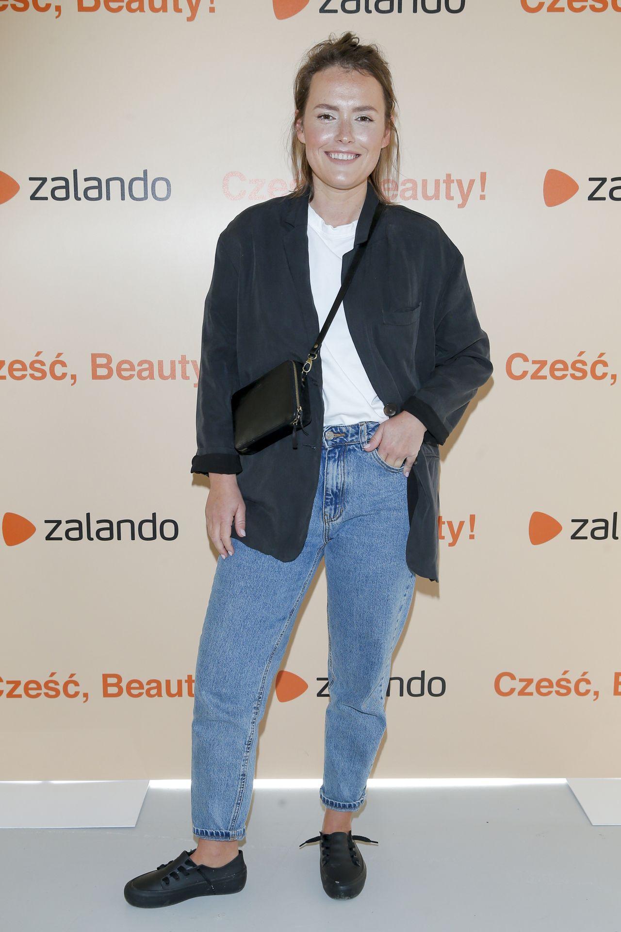 Olga Frycz na evencie Zalando