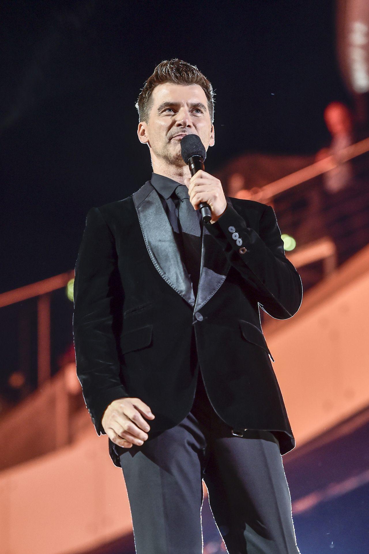 Tomasz Kammel na scenie