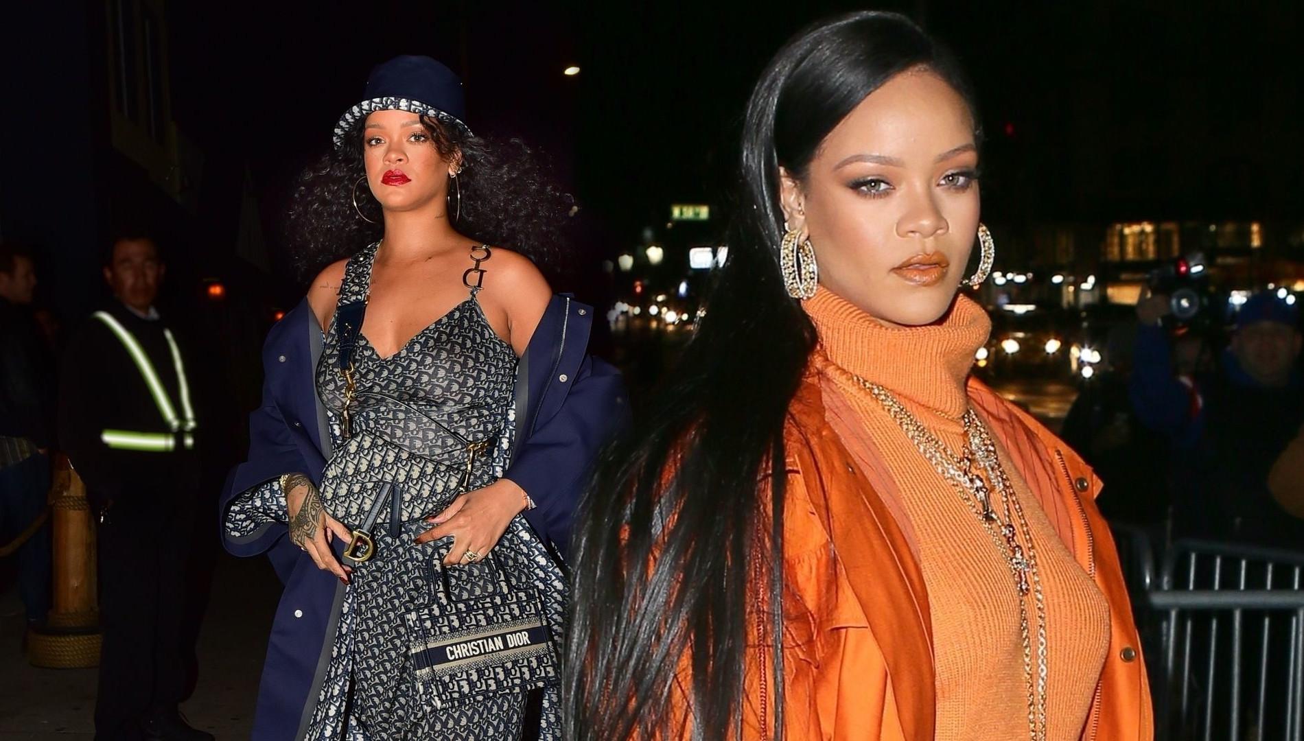 Rihanna z PODBITYM okiem w LA! Gwiazda miała wypadek