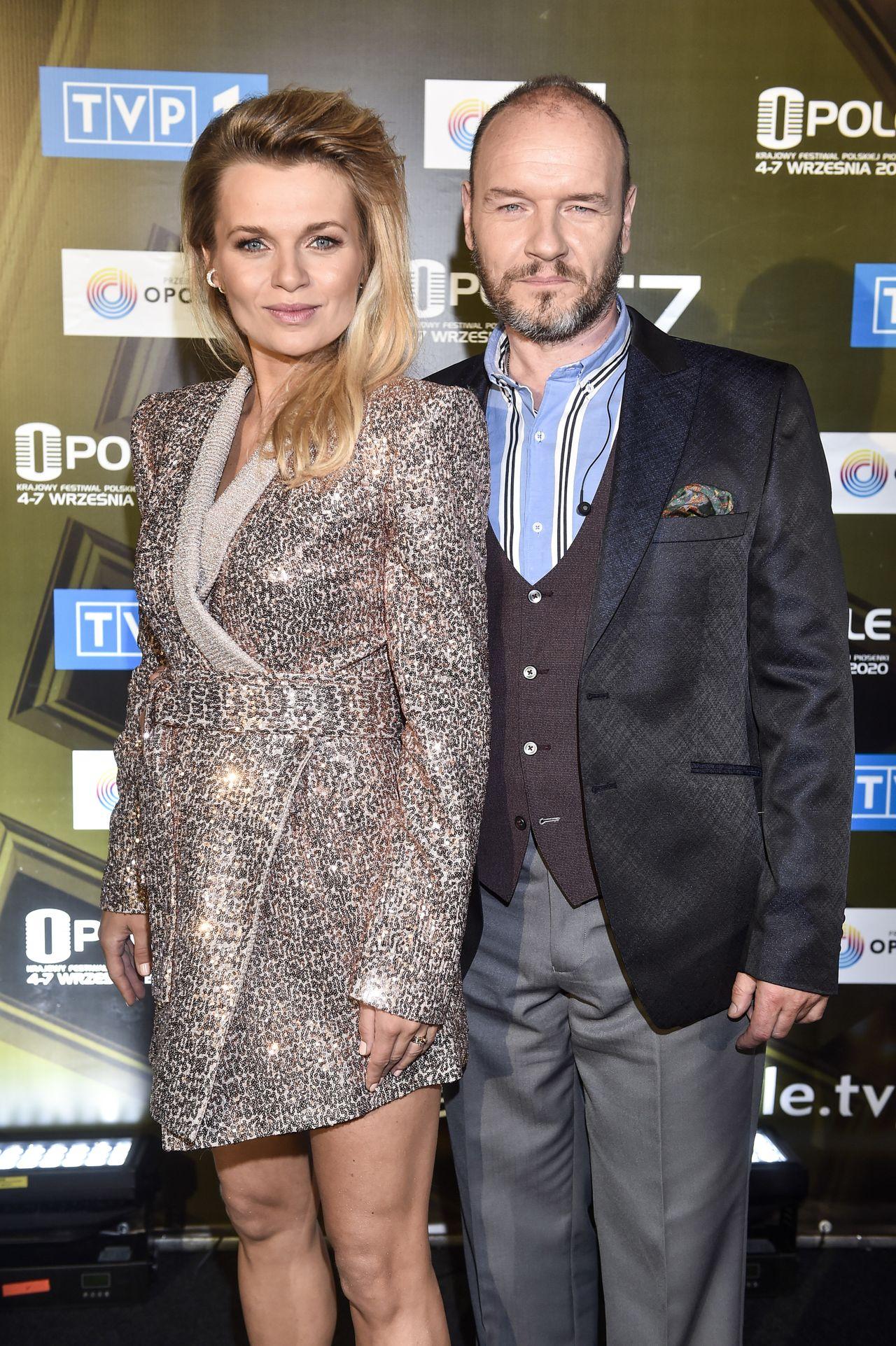 Emilia Komarnicka z mężem w Opolu