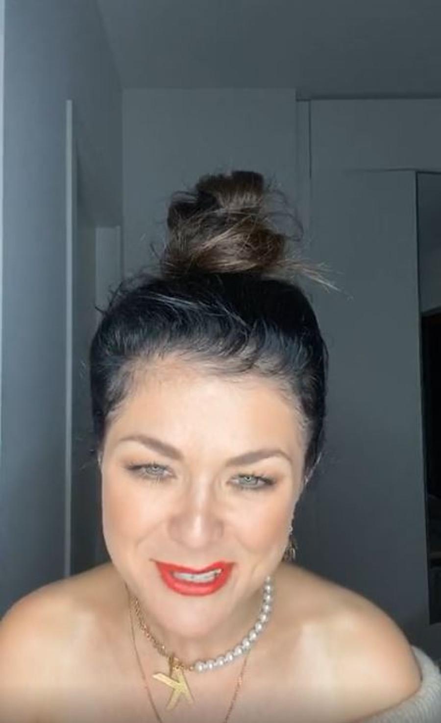 Katarzyna Cichopek krzywo pomalowała usta.