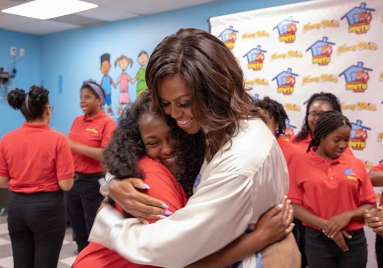 Michelle Obama na spotkaniu, for. Instagram @michelleobama