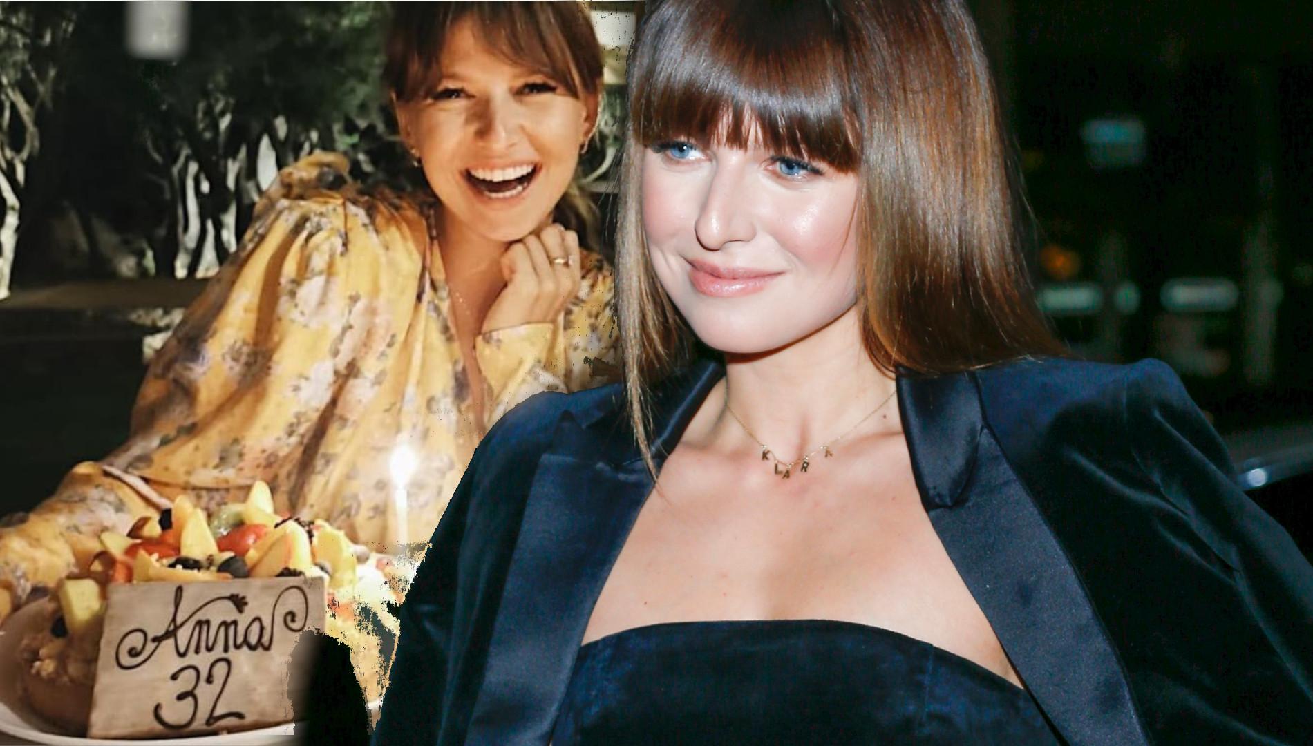 Anna Lewandowska kończy 32 lata! Tort i życzenia gwiazd
