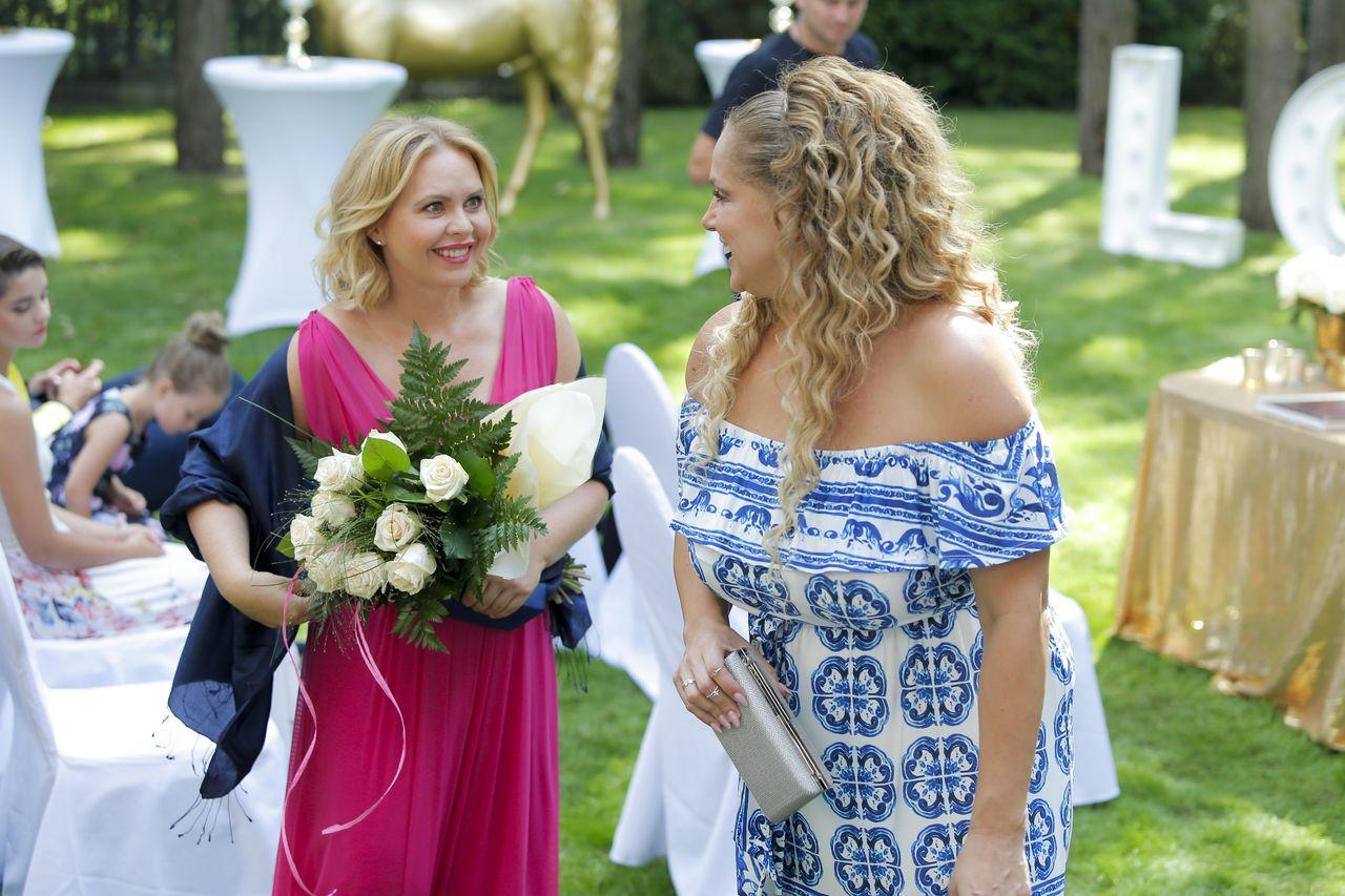 Anka i Patrycja na ślubie Ingi