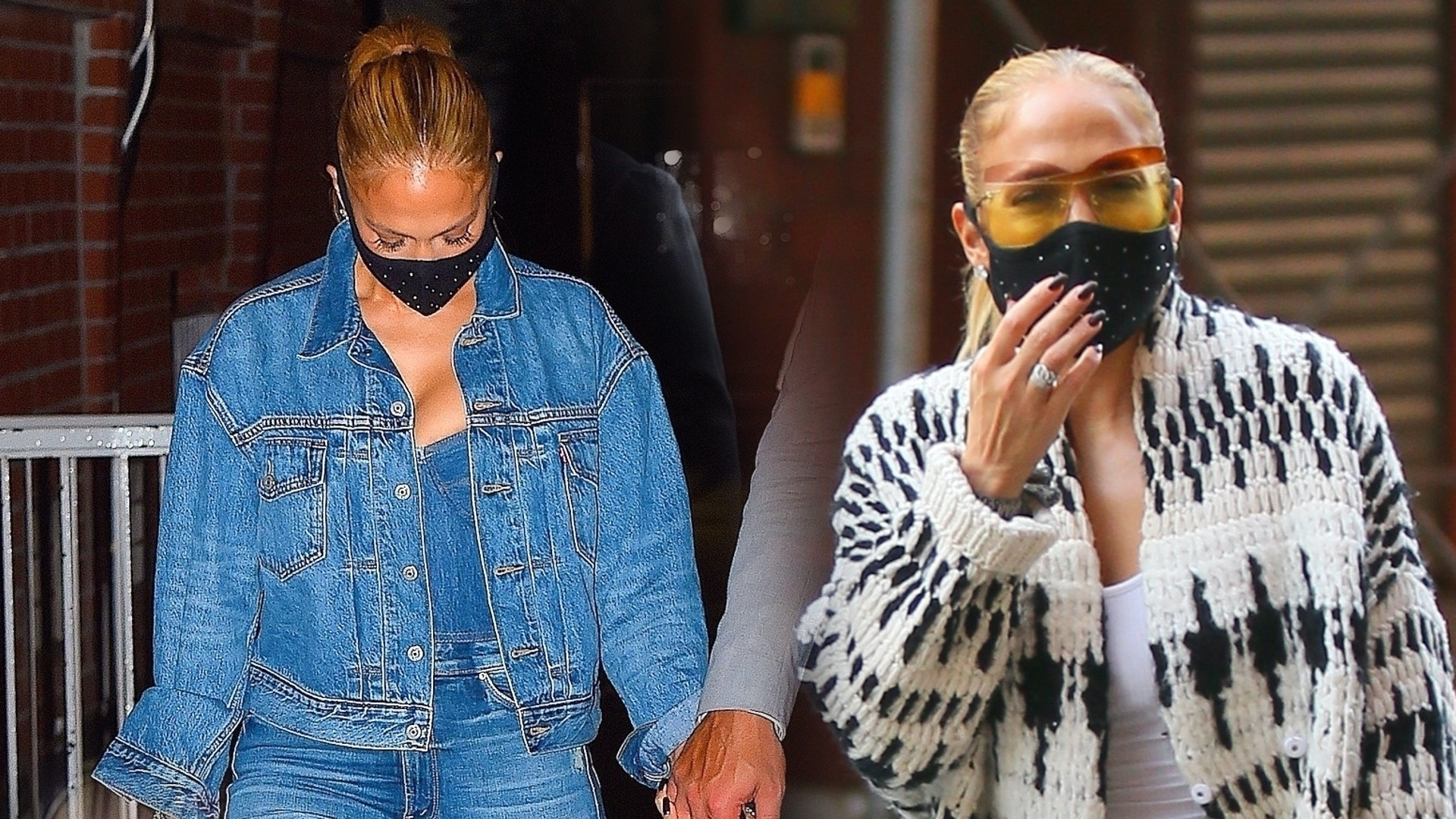 Takiej to dobrze! Jennifer Lopez na dwóch randkach jednego dnia. Pierwsza stylizacja świetna, ale druga… (ZDJĘCIA)