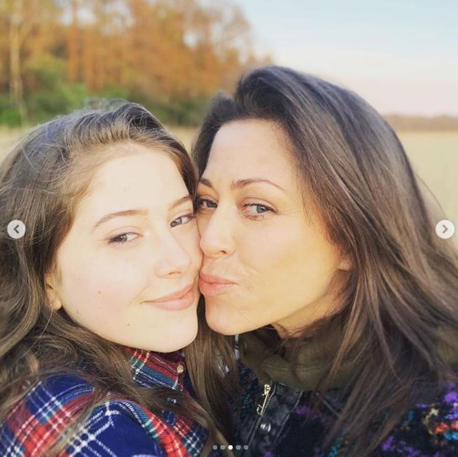 Natalia Kukulska z córką Anią.