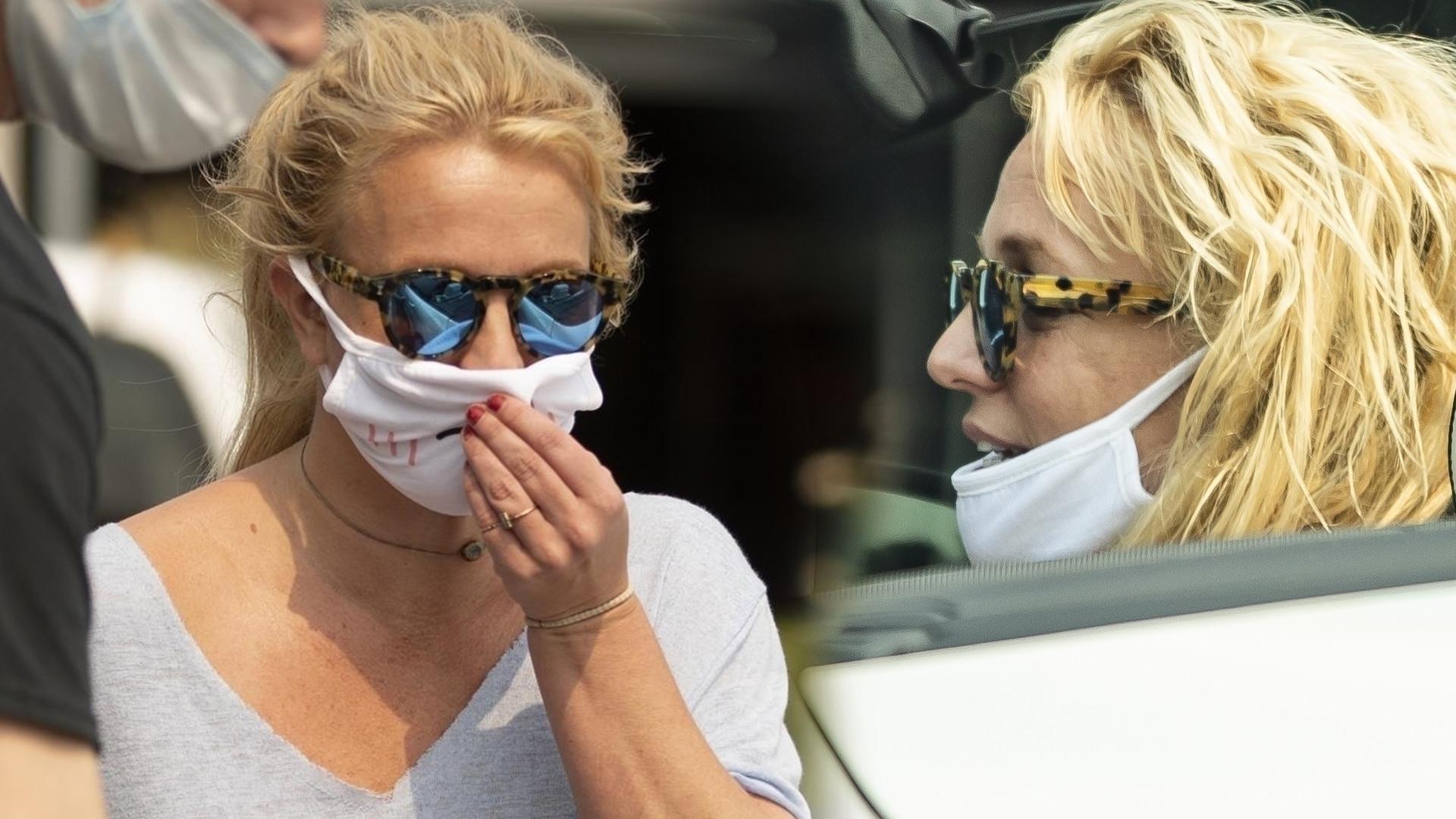 Więziona (?) Britney Spears pokazała się publicznie – wygląda inaczej niż na Instagramie (ZDJĘCIA)