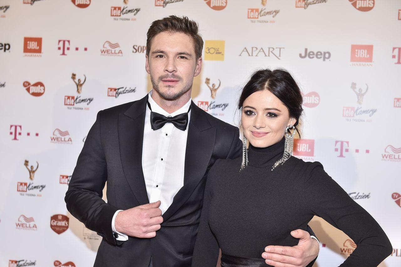 Mikołaj Roznerski i Adriana Kalska na Telekamerach