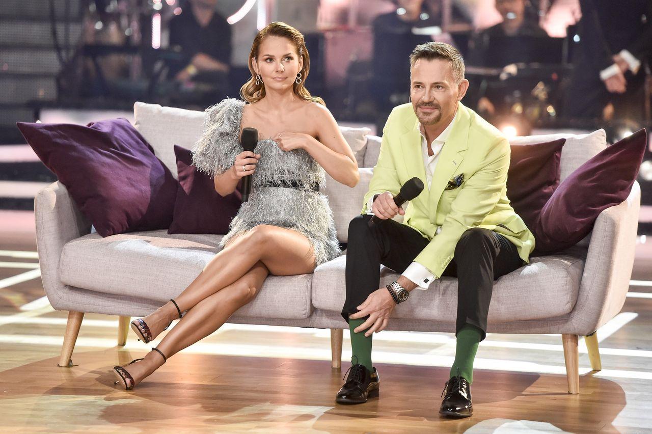 Paulina Sykut-Jeżyna, Krzysztof Ibisz na kanapie