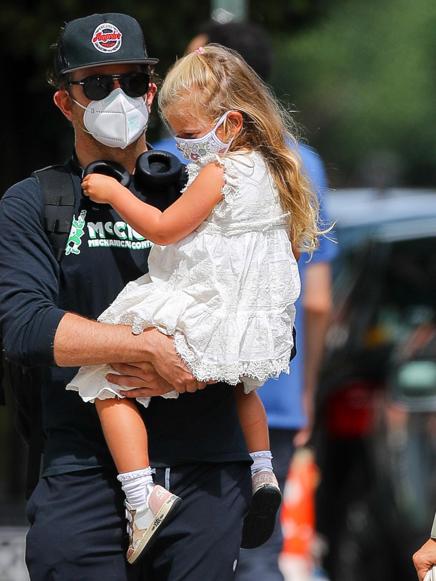 Bradley Cooper z córką, fot. Forum