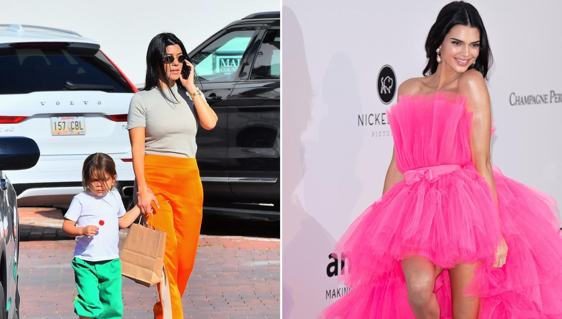Kendall Jenner wciąż ma Kourtney za NAJGORSZĄ matkę? Modelka się tłumaczy