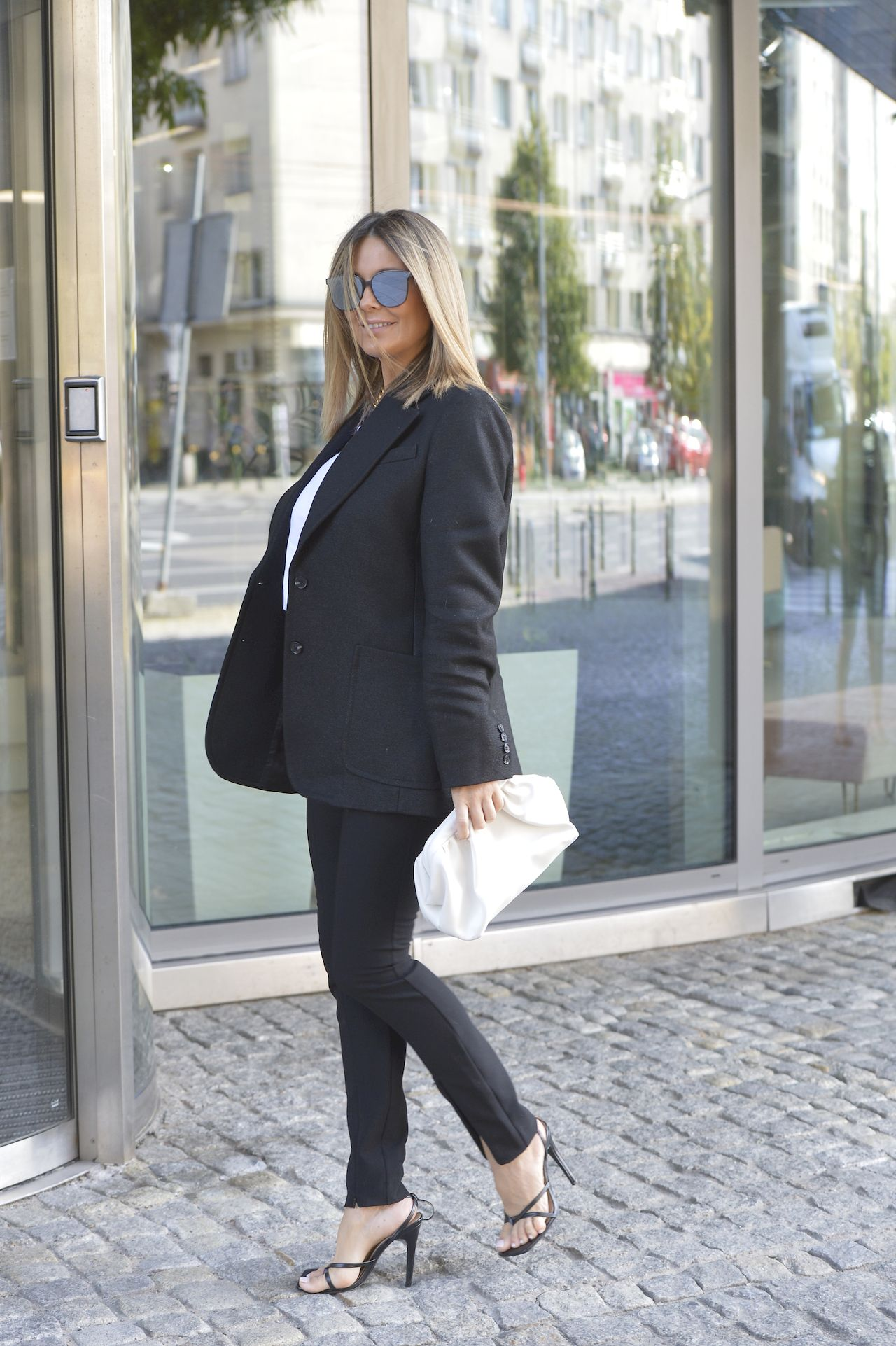 Małgorzata Rozenek-Majdan miała na sobie stylowy garnitur
