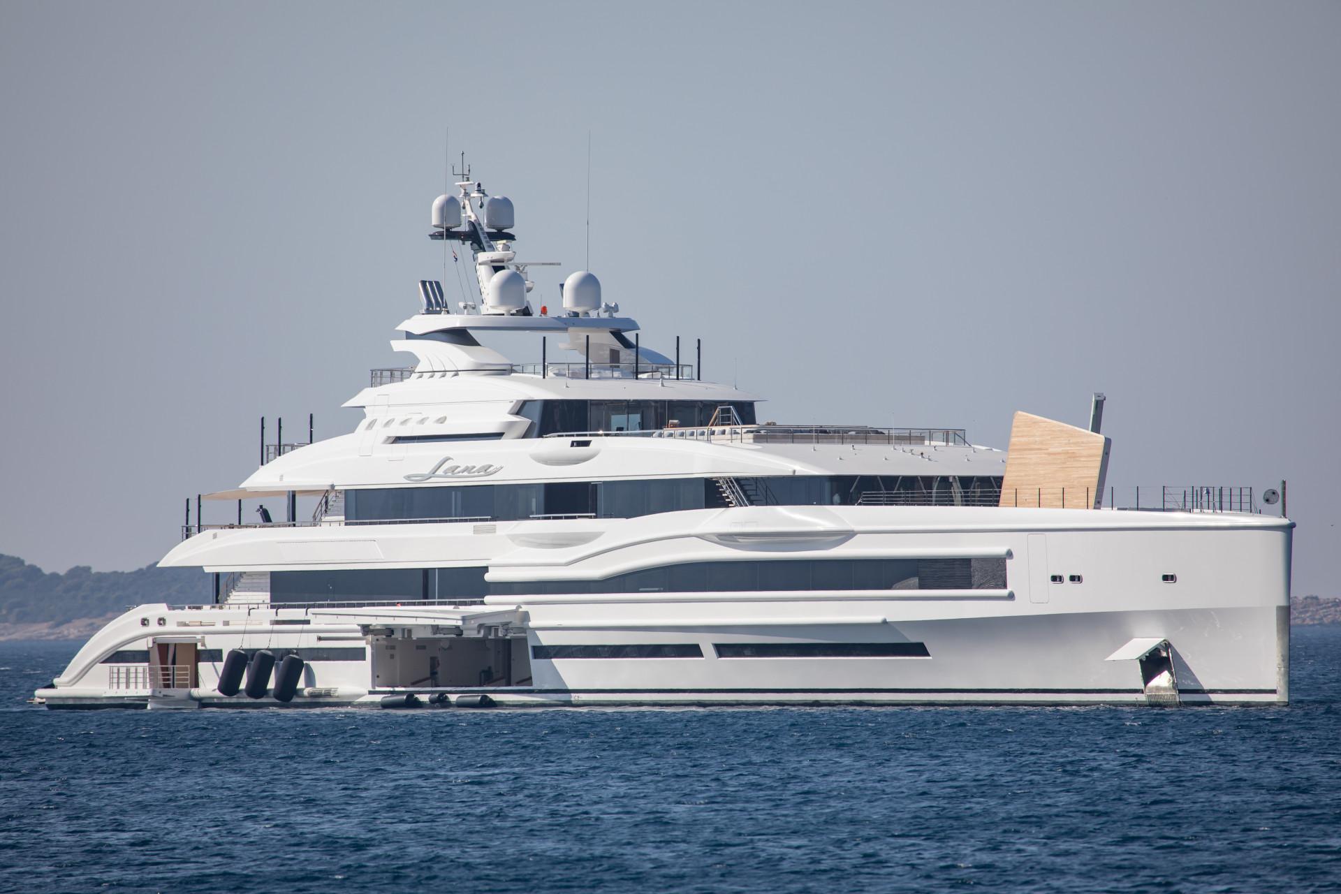 Jacht Beyonce, fot. Forum