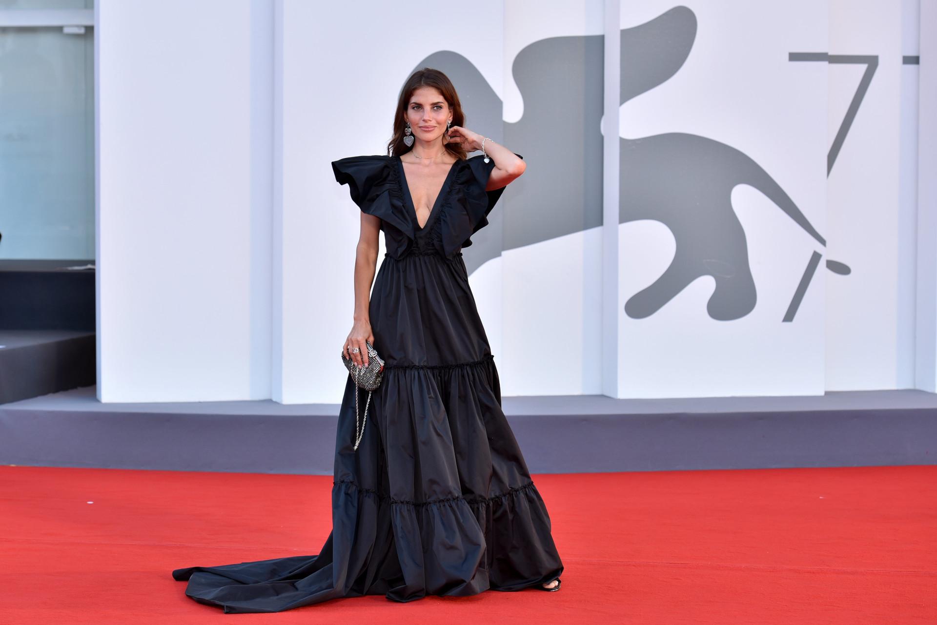 Weronika Rosati na festiwalu w Wenecji