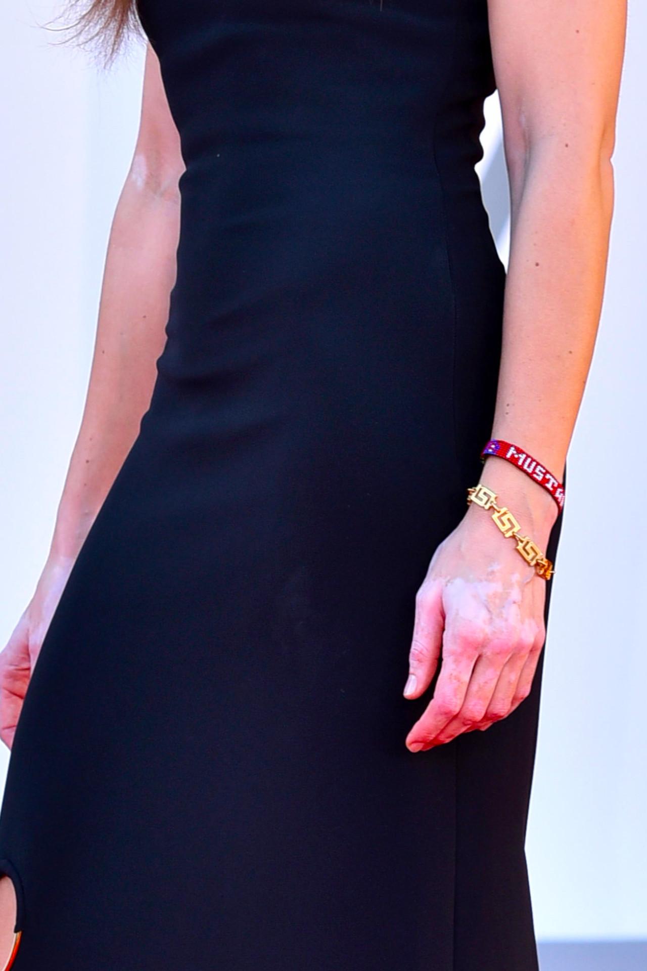 Kasia Smutniak na ceremonii zamknięcia 77. Festiwalu w Wenecji, fot. Ron Crusow/imageSPACE / MEGA / The Mega Agency / Forum