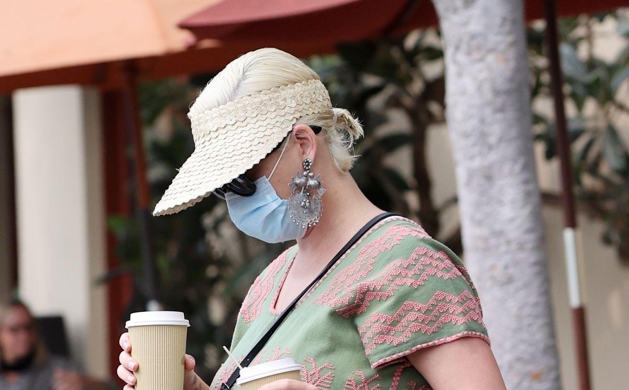 Katy Perry z kawą