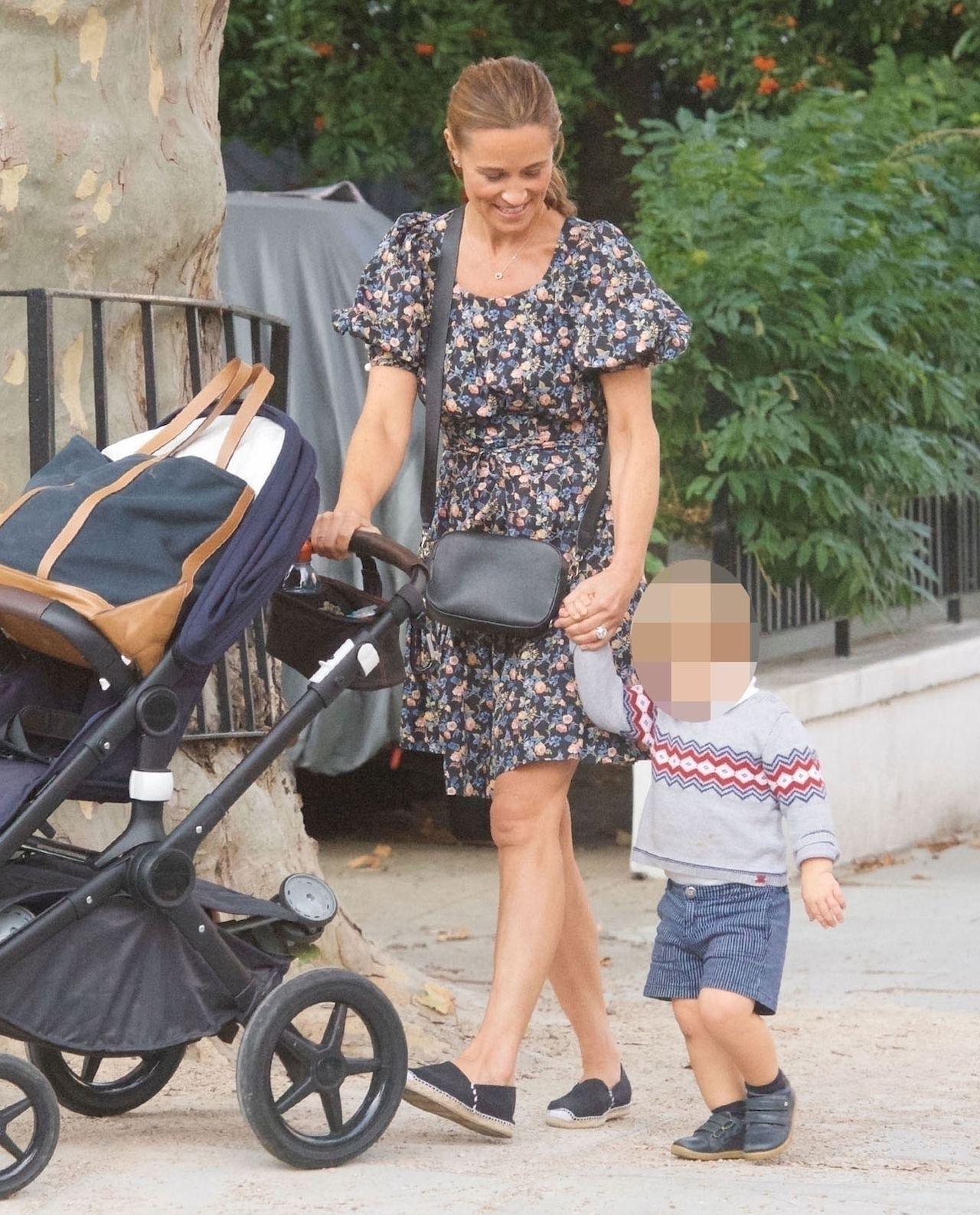 Pippa Middleton z synem - jaki już duży!