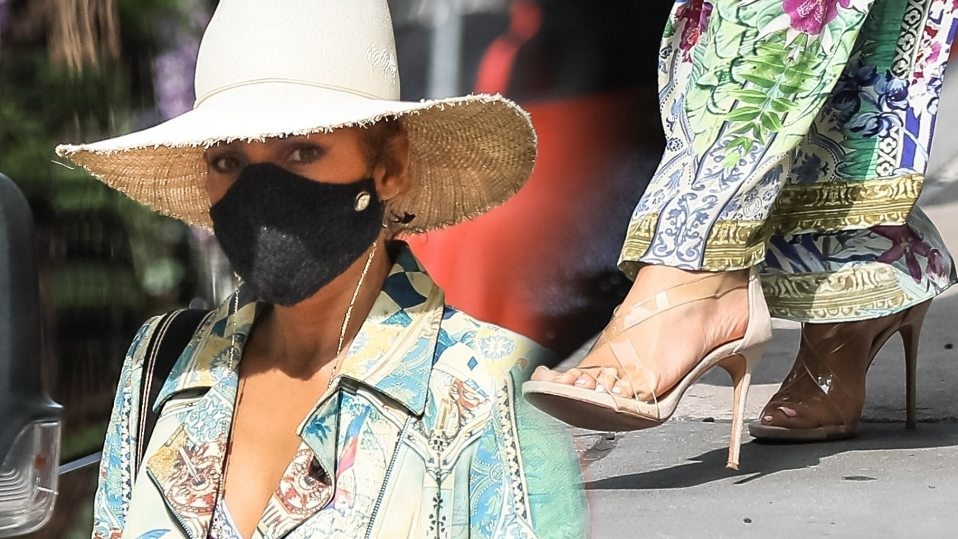 Jennifer Lopez ma fantazję! W tej stylizacji było ją widać z daleka (ZDJĘCIA)