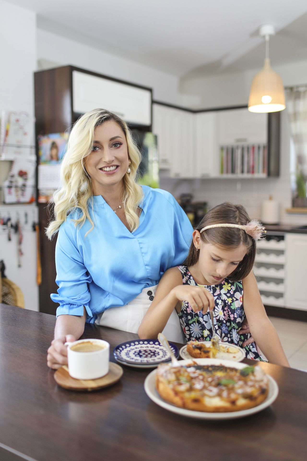 Justyna Żyła pracuje nad książką kucharską