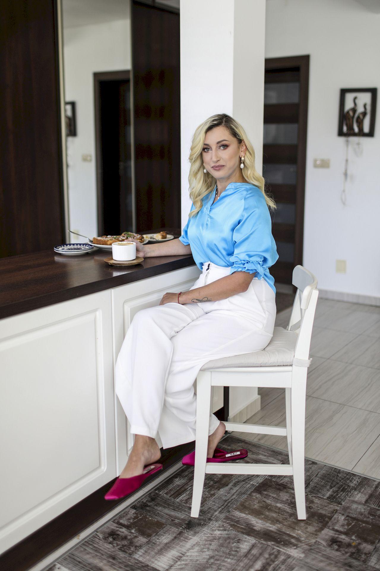 Justyna Żyła pokazała wnętrze kuchni