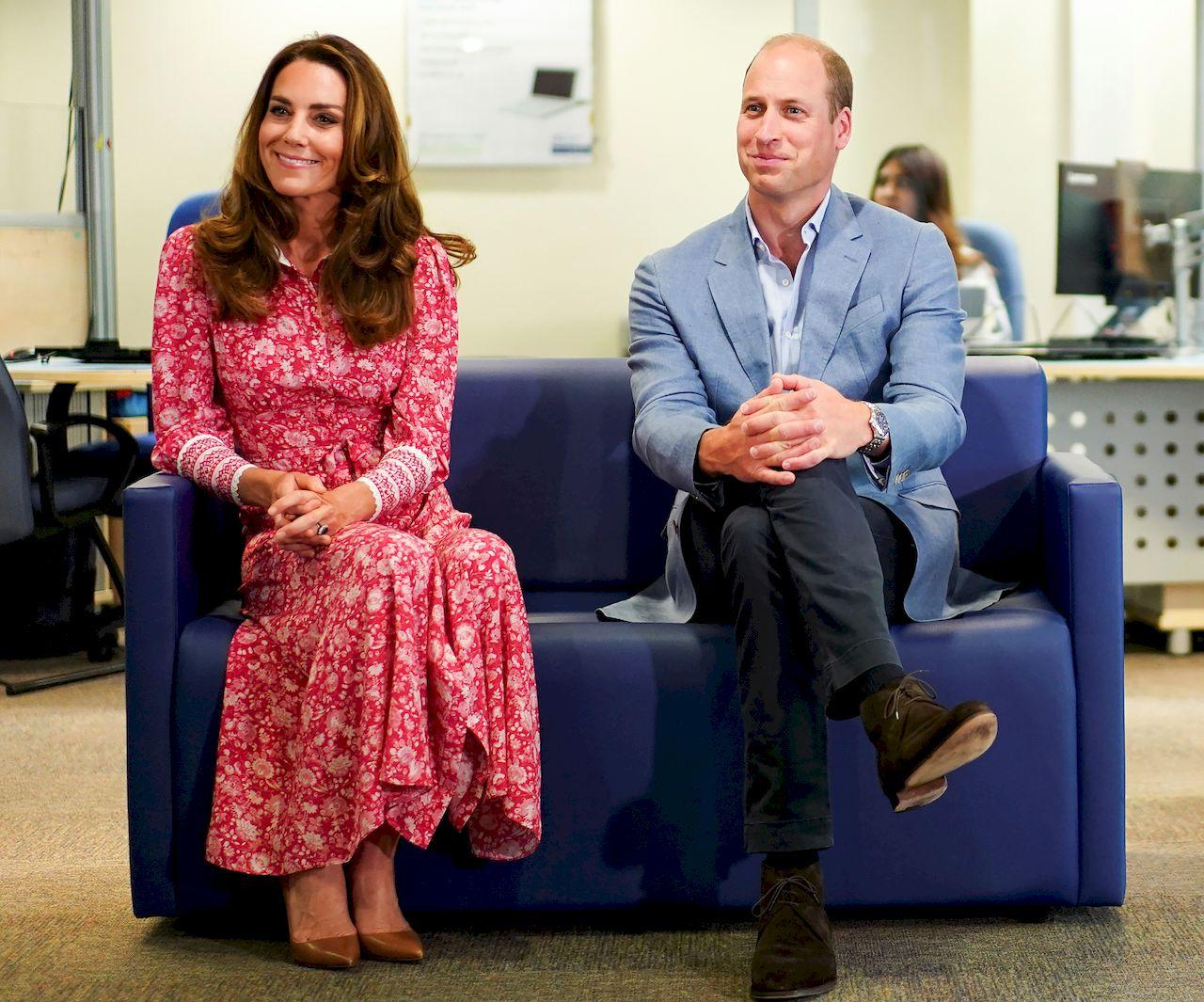 Kate i William na spotkaniu w Londynie
