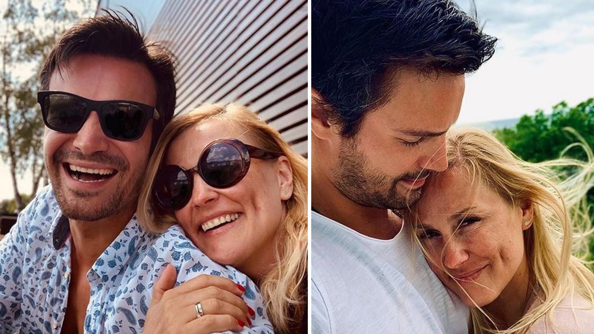 Sylwia Juszczak i Mikołaj Krawczyk świętują rocznicę ślubu – aktorka pokazała piękne zdjęcia z WESELA