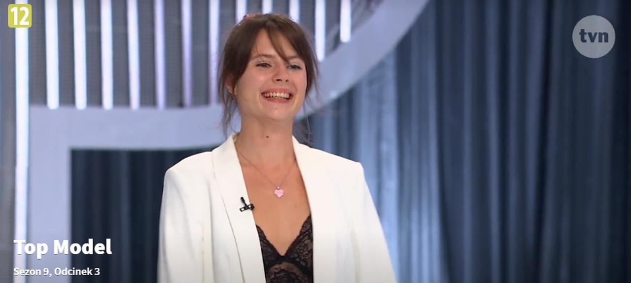 Maria Stańczyk-Mąciwoda przed jury