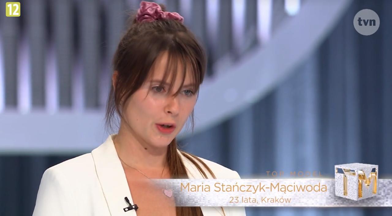 Maria Stańczyk-Mąciwoda na castingu