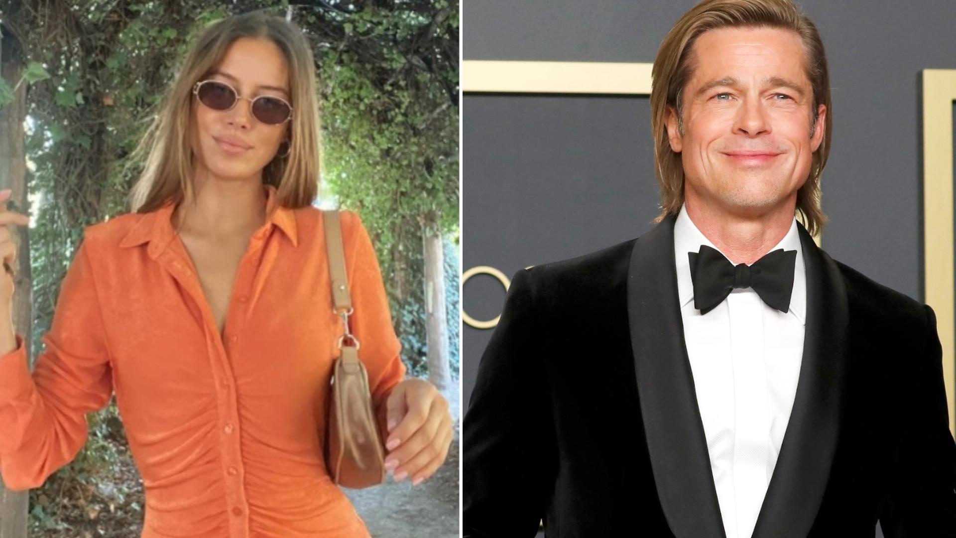 Nicole Poturalski po raz pierwszy o plotkach na temat związku z Bradem Pittem