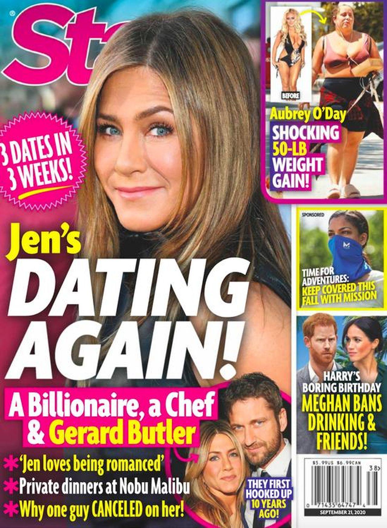 Jennifer Aniston i Gerard Butler są parą?