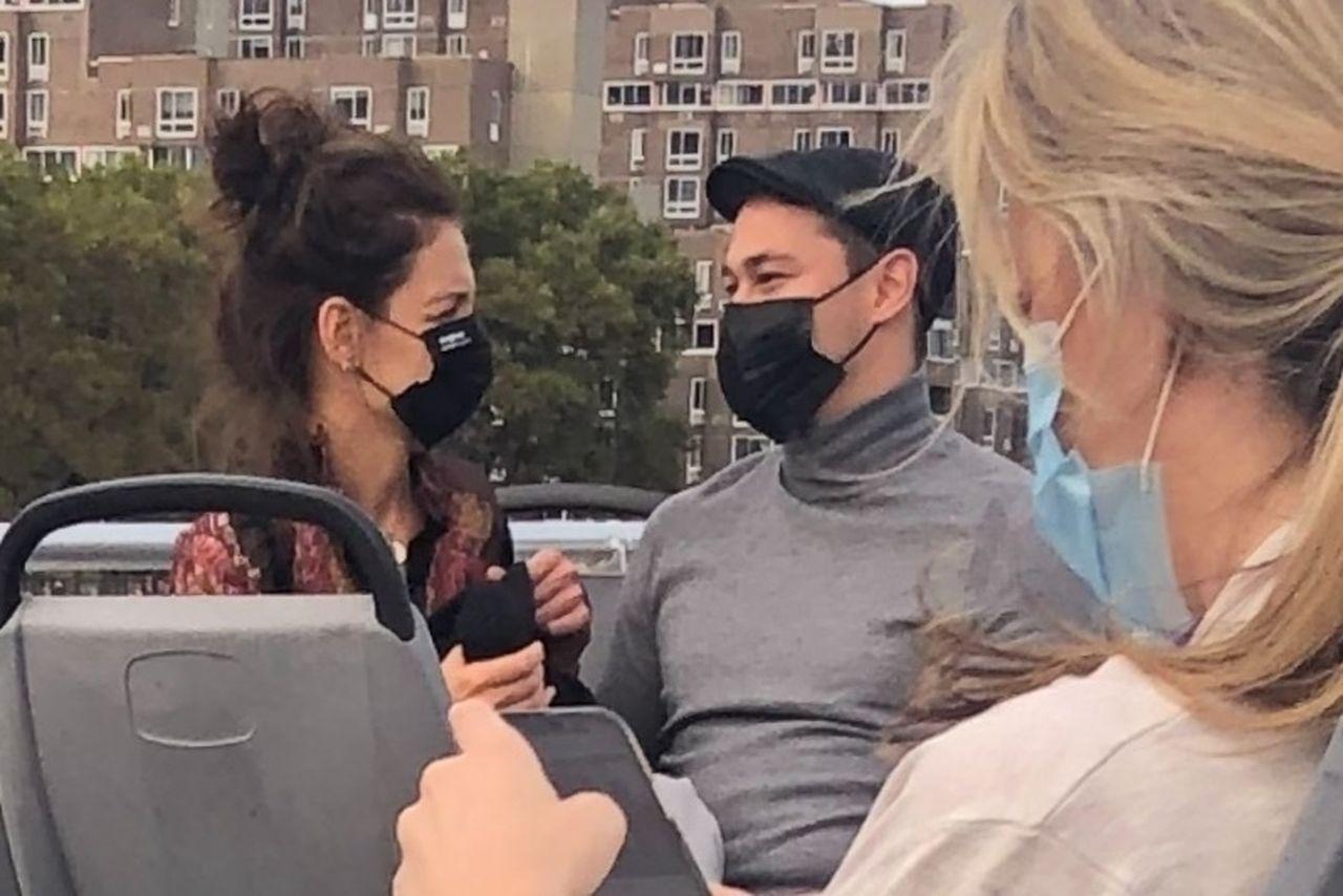 Katie Holmes i Emilio Vitolo na wspólnym wypadzie