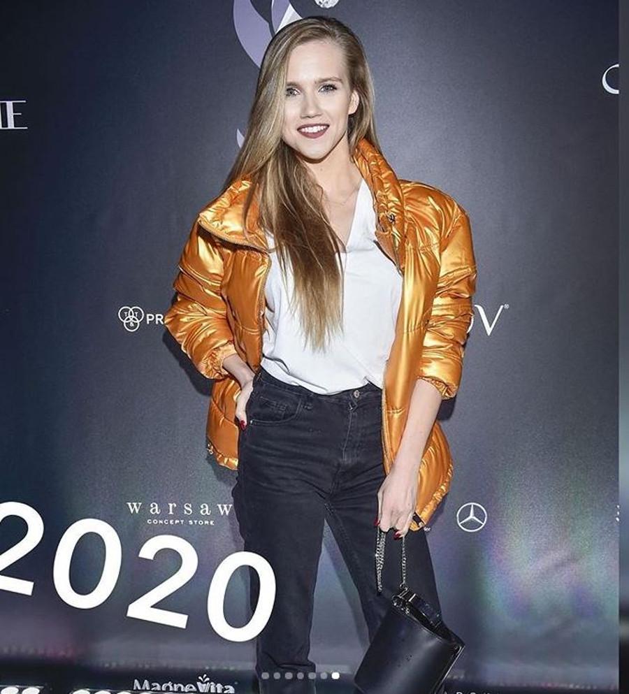 Agnieszka Kaczorowska w 2020 roku.