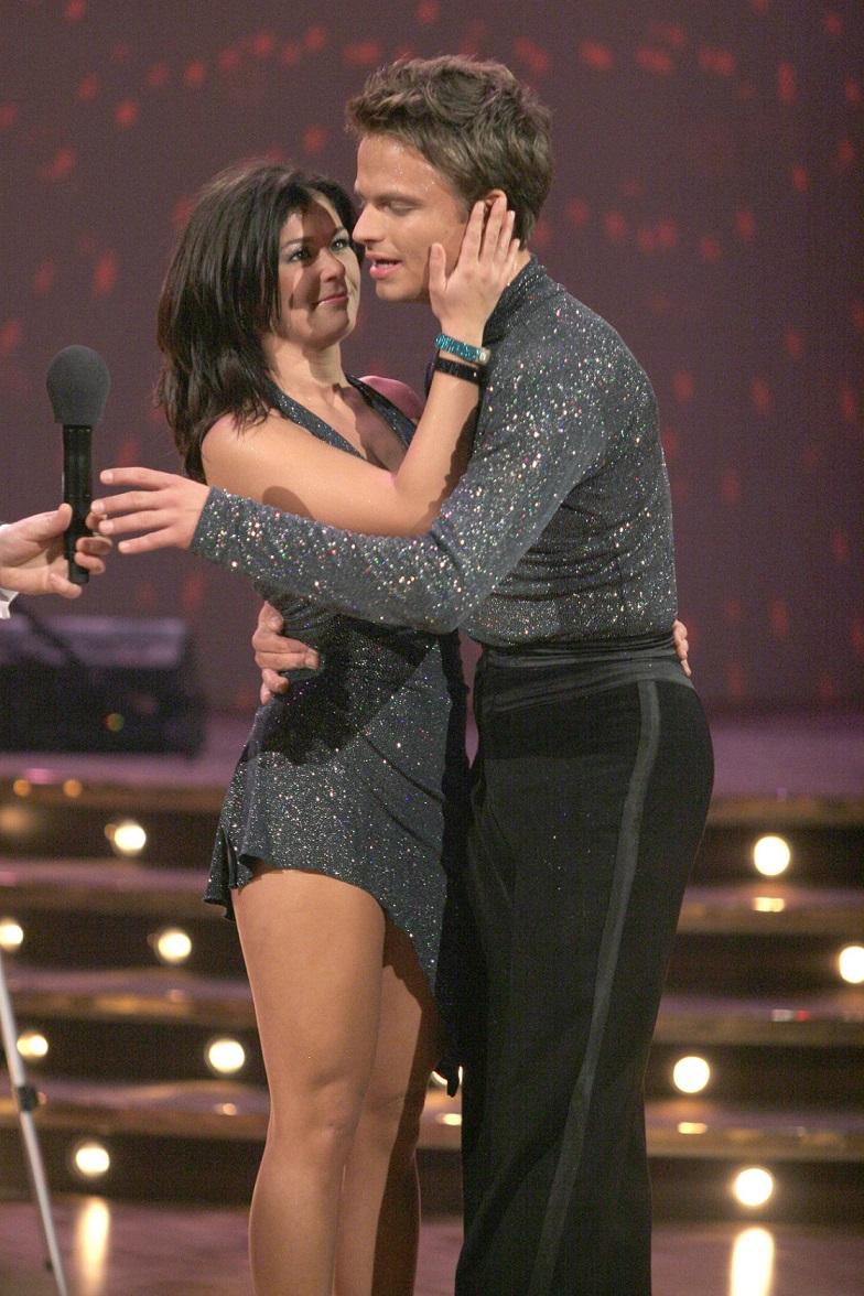 Katarzyna Cichopek i Marcin Hakiel w telewizji