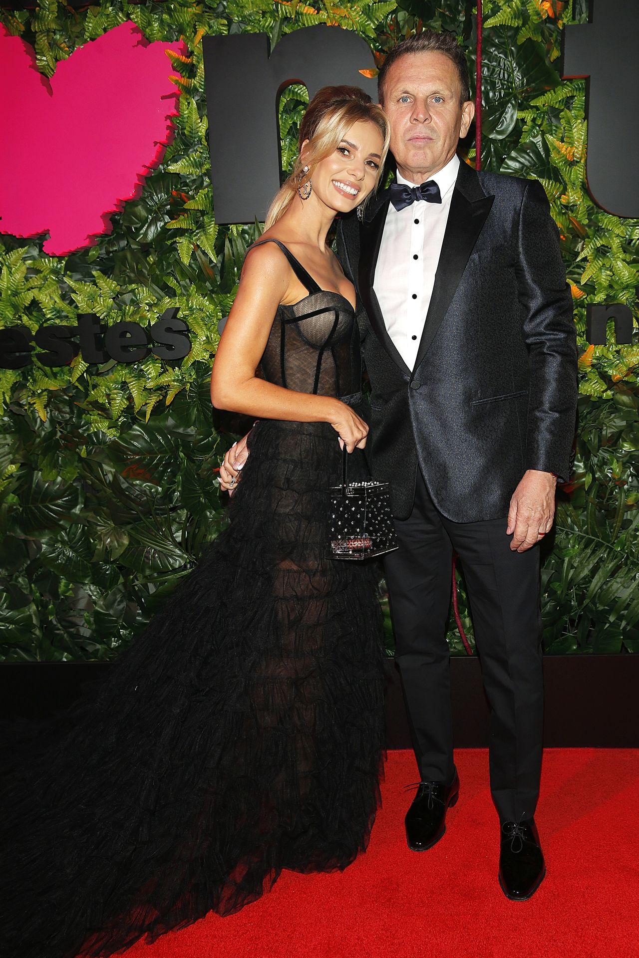 Iza Janchowska z mężem na imprezie TVN