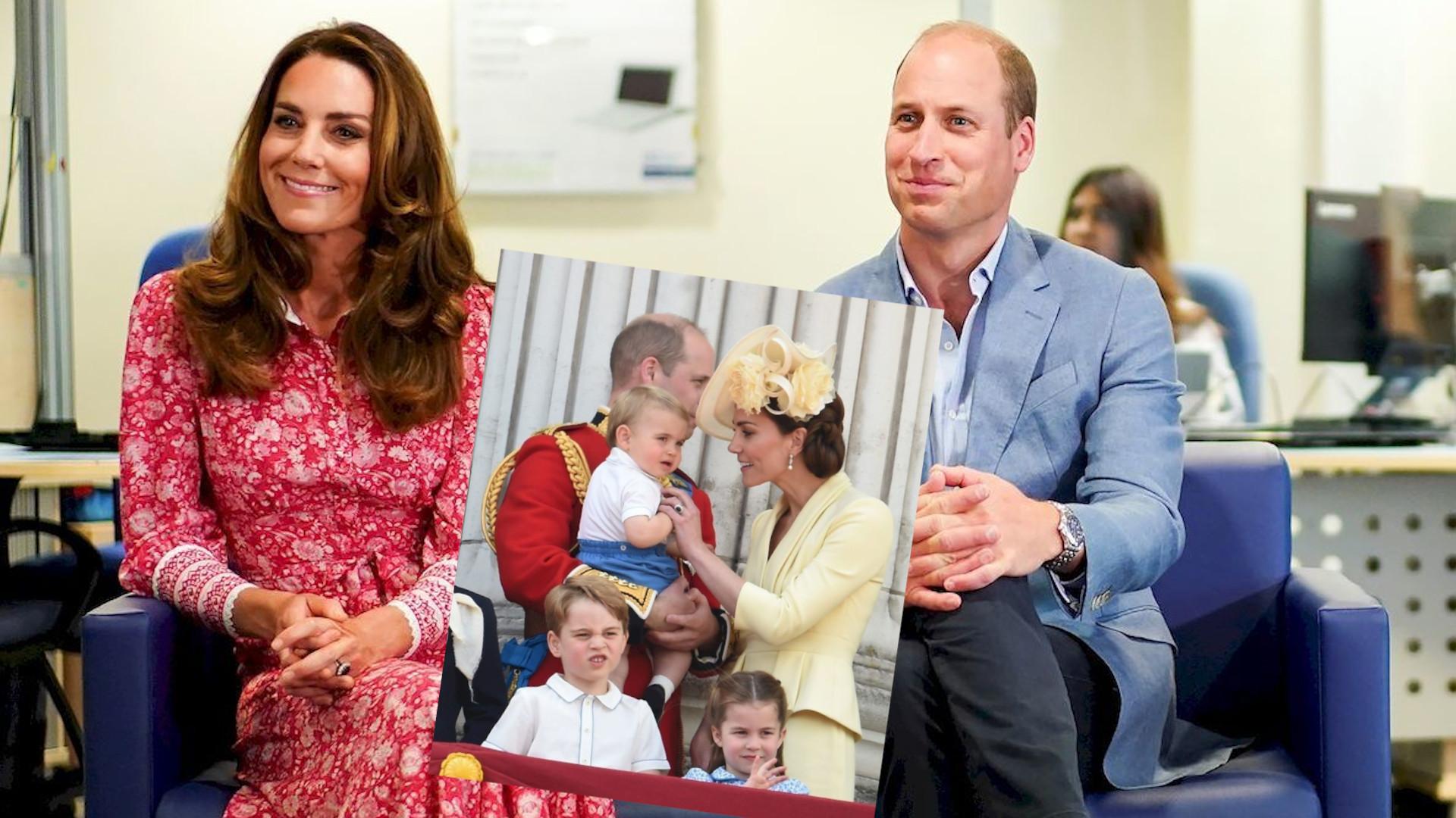 Książę William zdradził, czym interesują się jego synowie. Wtrąciła się Kate