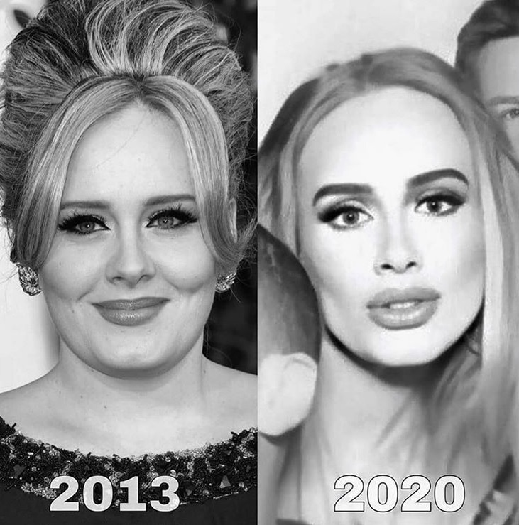 Adele - metamorfoza